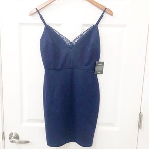 Navy Lush dress size small